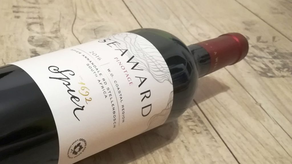 Seaward Pinotage 2016 WO Coastal region, Spier Wines