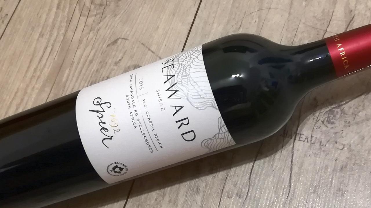 Seaward Shiraz 2015 WO Coastal region, Spier Wines