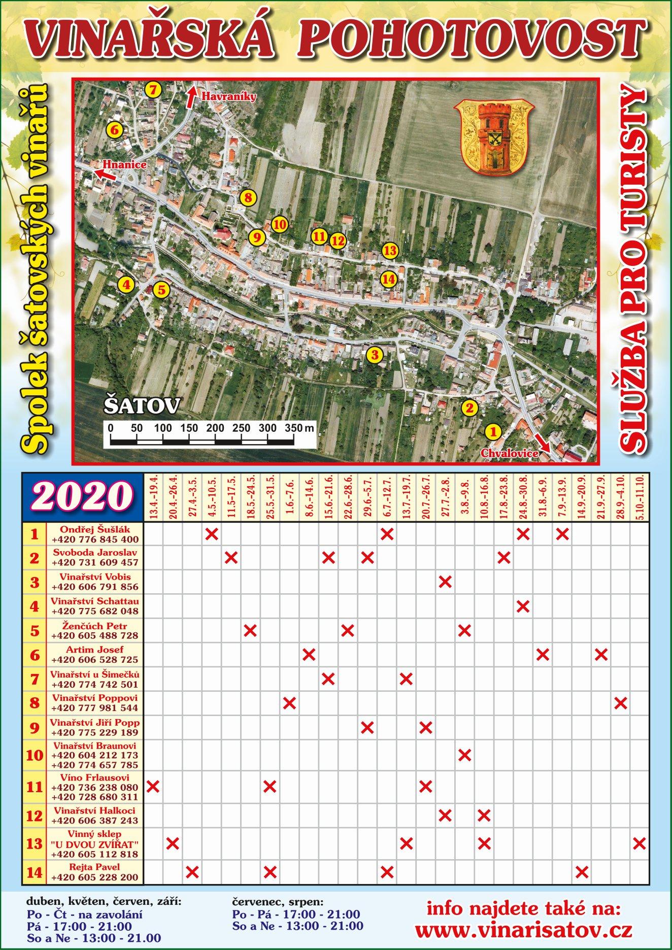 Vinařská pohotovost v Šatově 2020