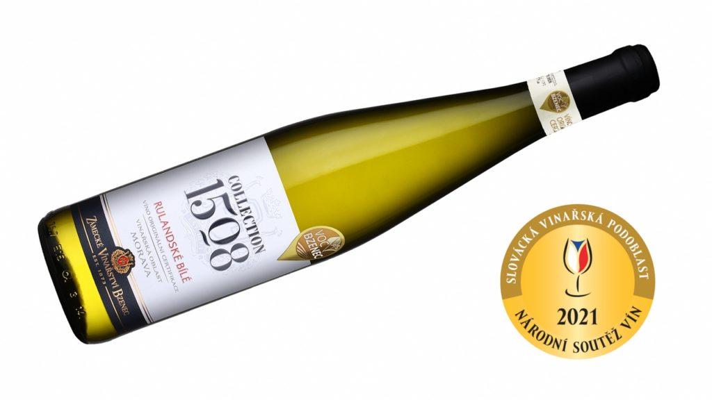 Nejlepším vínem na Slovácku je Rulandské bílé z Vracova