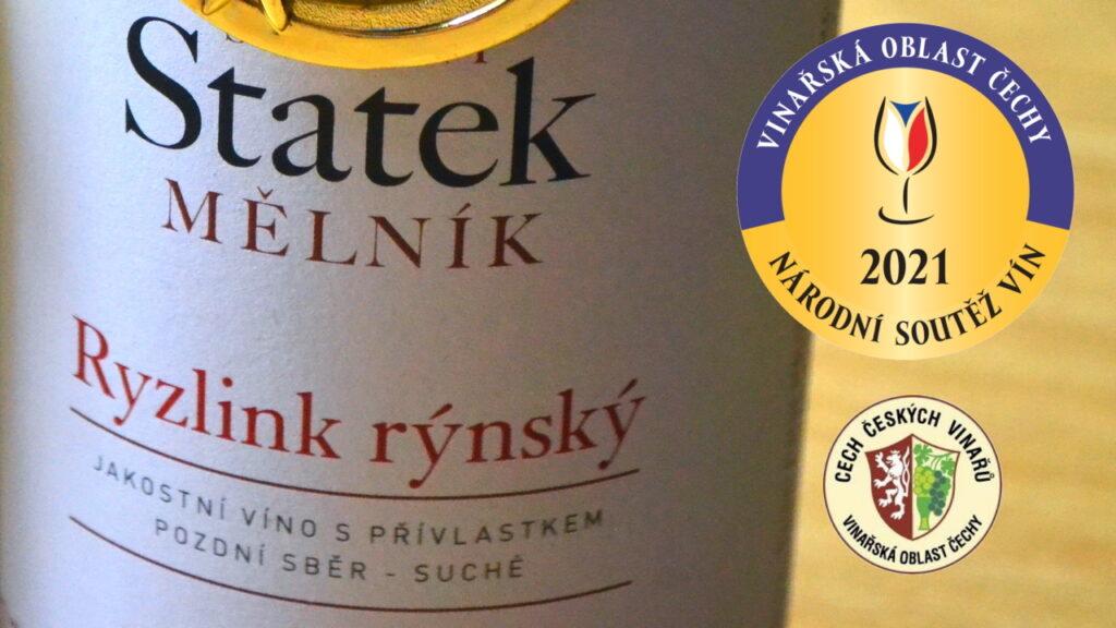 Šampion a vítězové kategorií Národní soutěže vín 2021 v Čechách