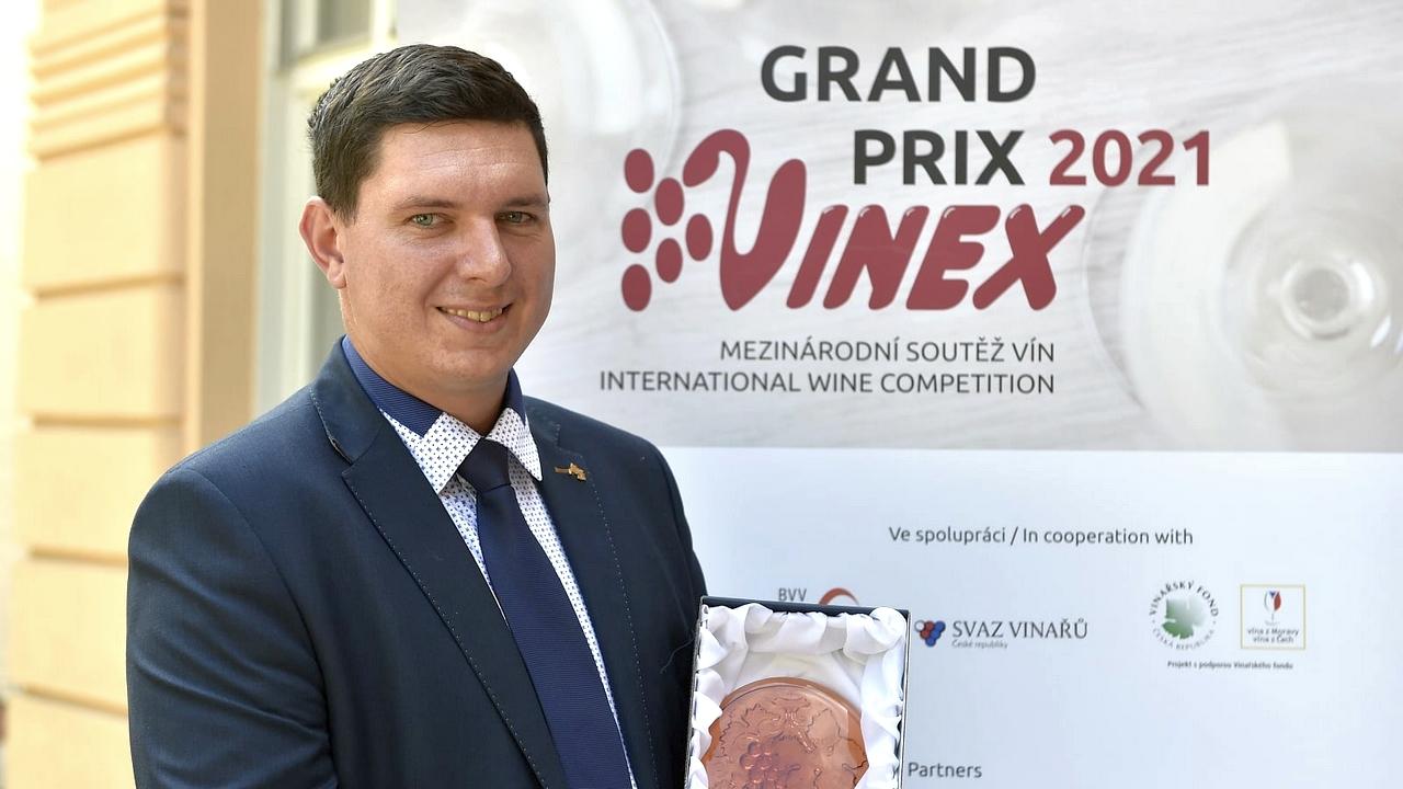 Slavnostní předání cen soutěže Grand Prix Vinex 2021